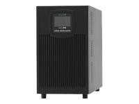 XANTO 2000 Doppelwandler (Online) 2000VA 8AC-Ausgänge Tower Schwarz Unterbrechungsfreie Stromversorgung (UPS)