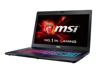 Gaming GS70-6QE81 Stealth Pro 2.6GHz i7-6700HQ 17.3Zoll 1920 x 1080Pixel Schwarz Notebook