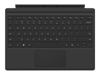 Surface Pro Type Cover Tastatur für Mobilgeräte Schwarz AZERTY Microsoft Cover port