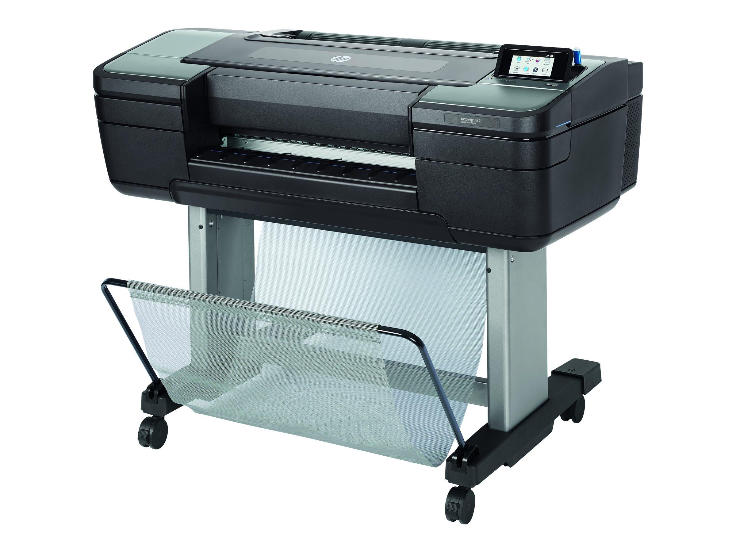 "HP DesignJet Z6 PostScript - 610 mm (24"") Großformatdrucker - Farbe - Thermotintenstrahl - Rolle (61 cm)"