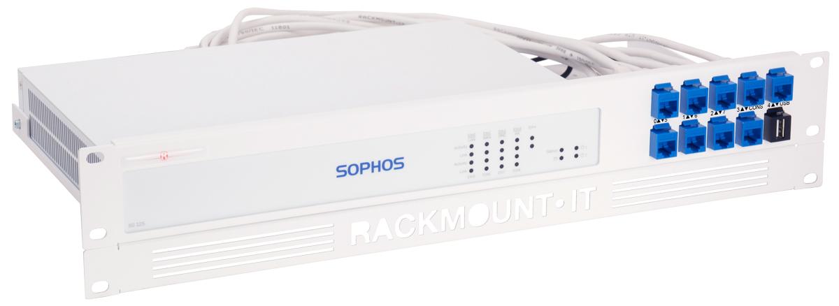 Rackmount.IT RM-SR-T3 - Montageschelle - Weiß - 2U - 0,5 m - Sophos SG 125 Rev. 3 - SG 135 Rev. 3 - 482 mm