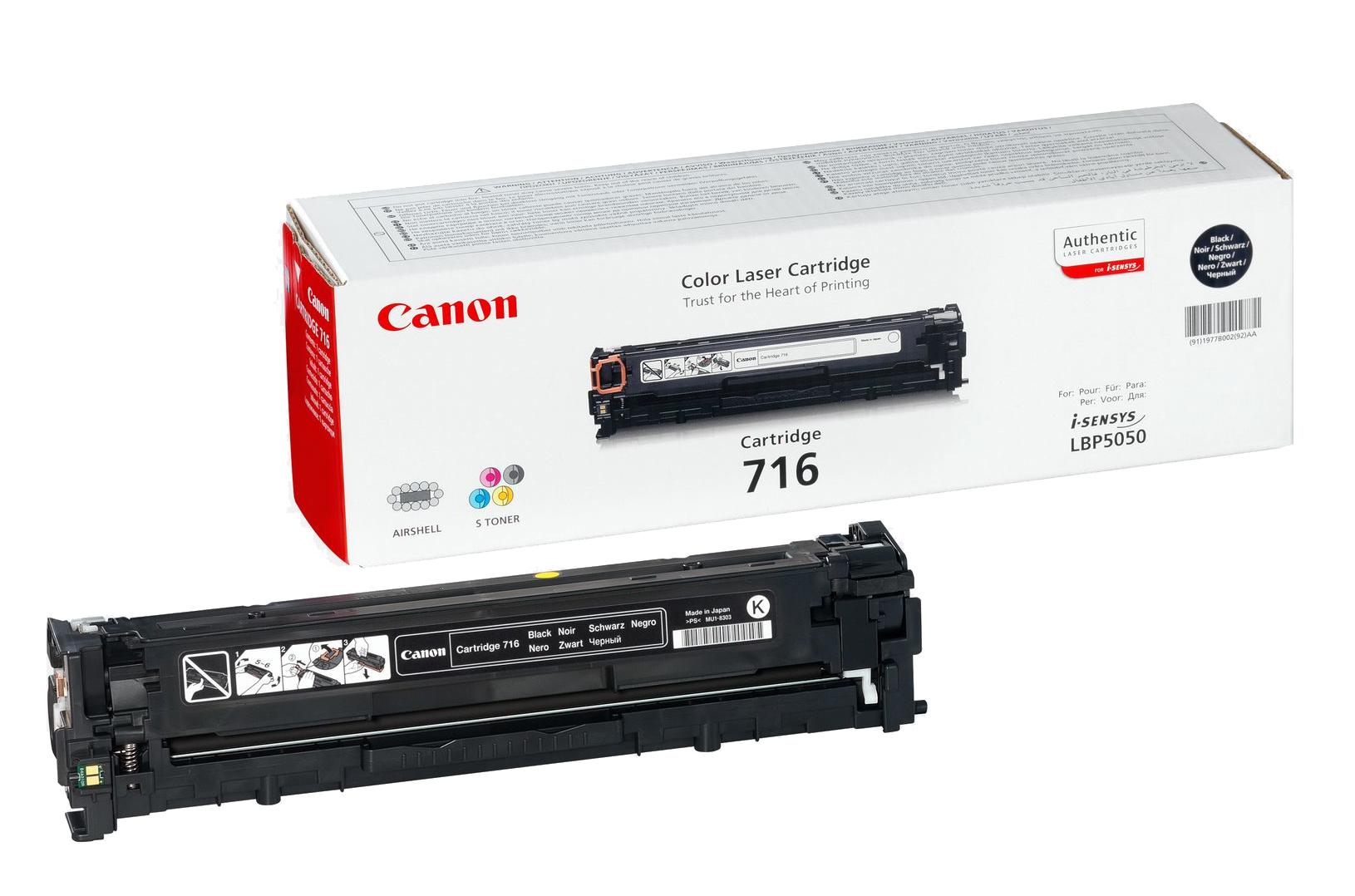 Canon Cartridge 716 Black 2300Seiten Schwarz