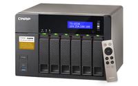 TS-653A NAS Tower Eingebauter Ethernet-Anschluss Schwarz