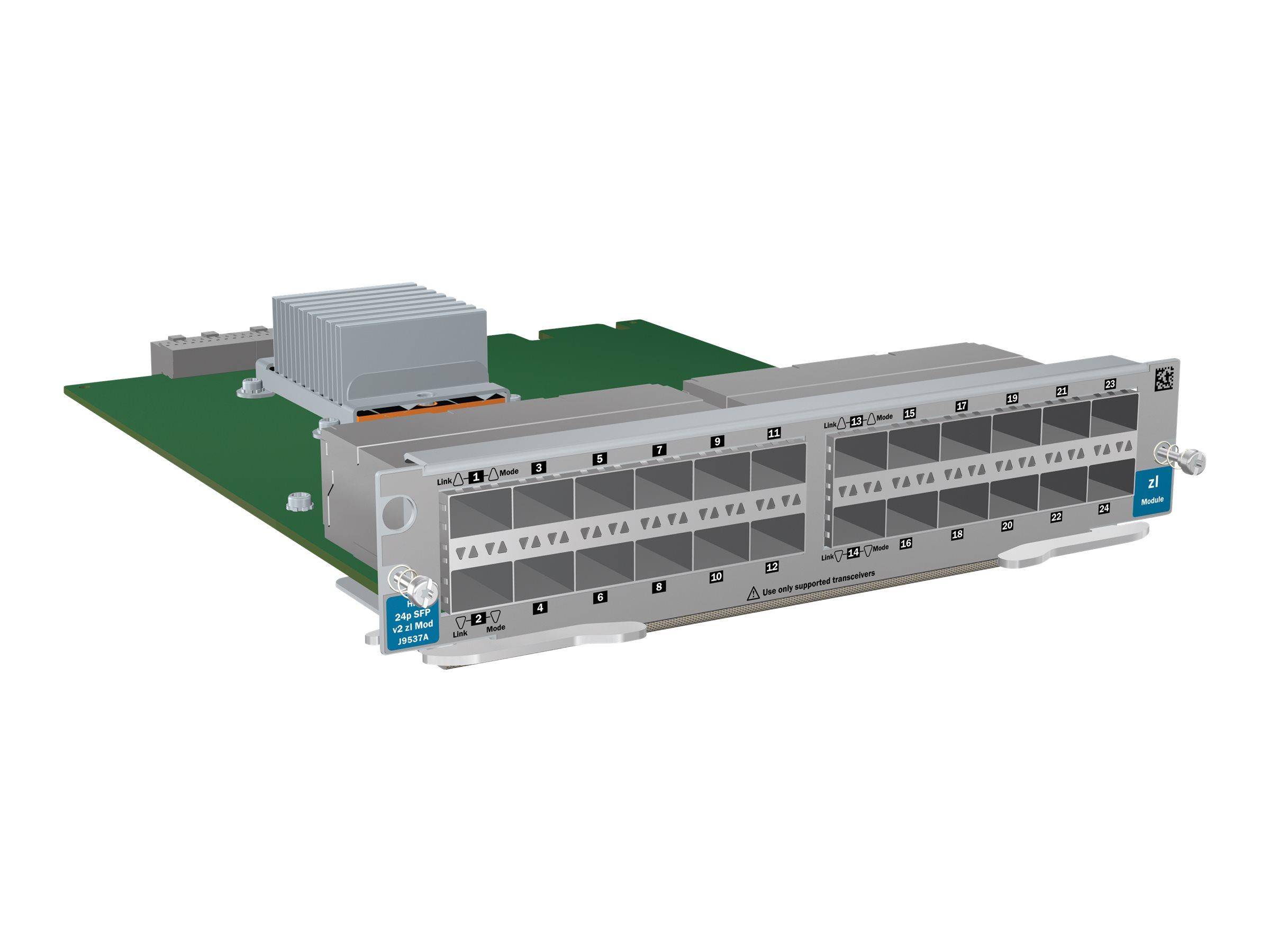 HP 24-port SFP v2 zl Module (J9537AR) - RENEW