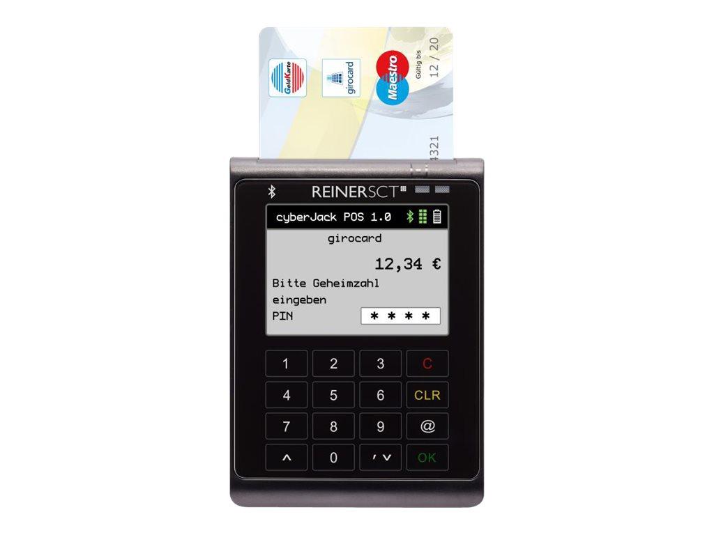 ReinerSCT cyberJack POS - SmartCard-Leser - Bluetooth 4.0 LE