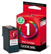Lexmark Cartridge No. 1 - Tintenpatrone Original - Schwarz, Cyan, Magenta, Yellow
