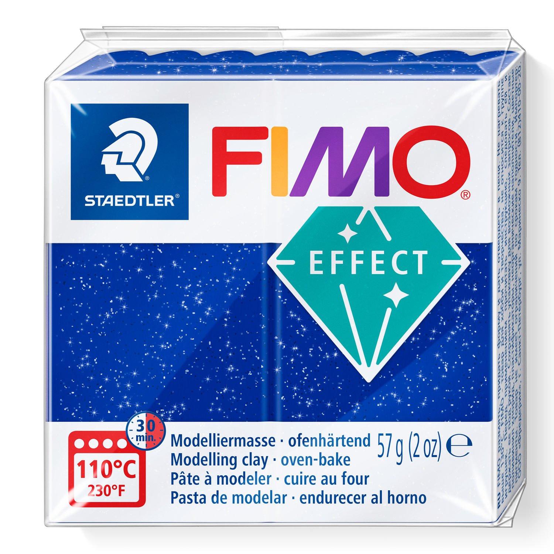 Vorschau: STAEDTLER FIMO 8020 - Knetmasse - Blau - Erwachsene - 1 Stück(e) - Glitter blue - 1 Farben