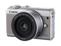 EOS M100 MILC Body 24,2 MP CMOS 6000 x 4000 Pixel Grau