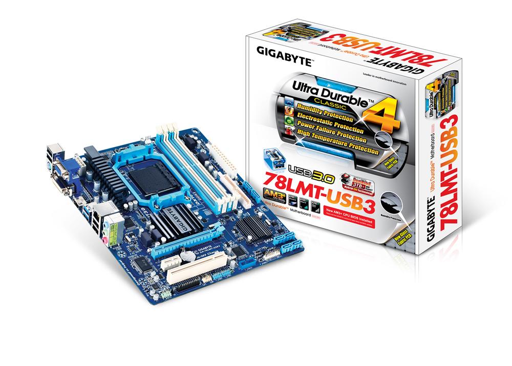 Gigabyte GA-78LMT-USB3 4.1+ - Mainboard - Mikro-ATX