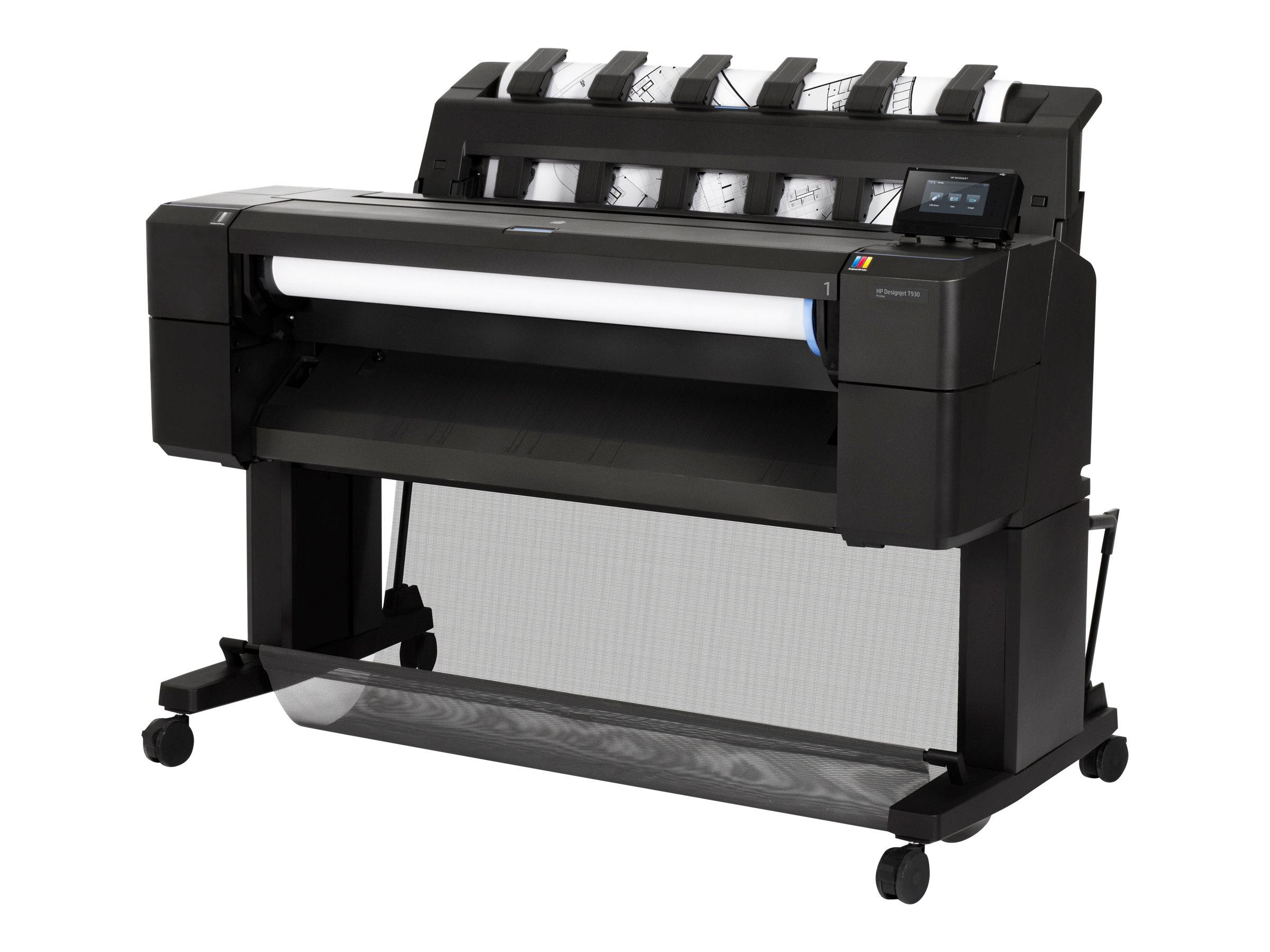 """Vorschau: HP DesignJet T930 - 914 mm (36"""") Großformatdrucker - Farbe - Tintenstrahl - Rolle (91,4 cm x 91,4 m)"""
