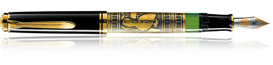 Pelikan 924712 - Schwarz - Gold - Schwarz - Edelstahl - Gold