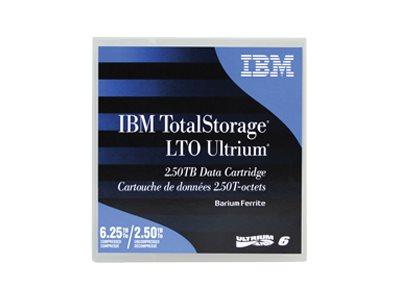 IBM TotalStorage - LTO Ultrium 6 - 2.5 TB / 6.25