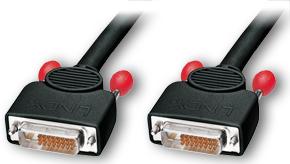 Lindy DVI-D Dual Link Kabel - Kabel - Digital/Display/Video