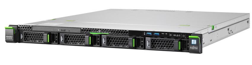 Fujitsu PRIMERGY RX1330 M3 3.5GHz E3-1230V6 450W Rack (1U) Server