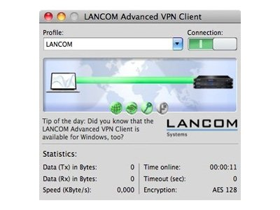Lancom Advanced VPN Client - Lizenz - 1 Benutzer