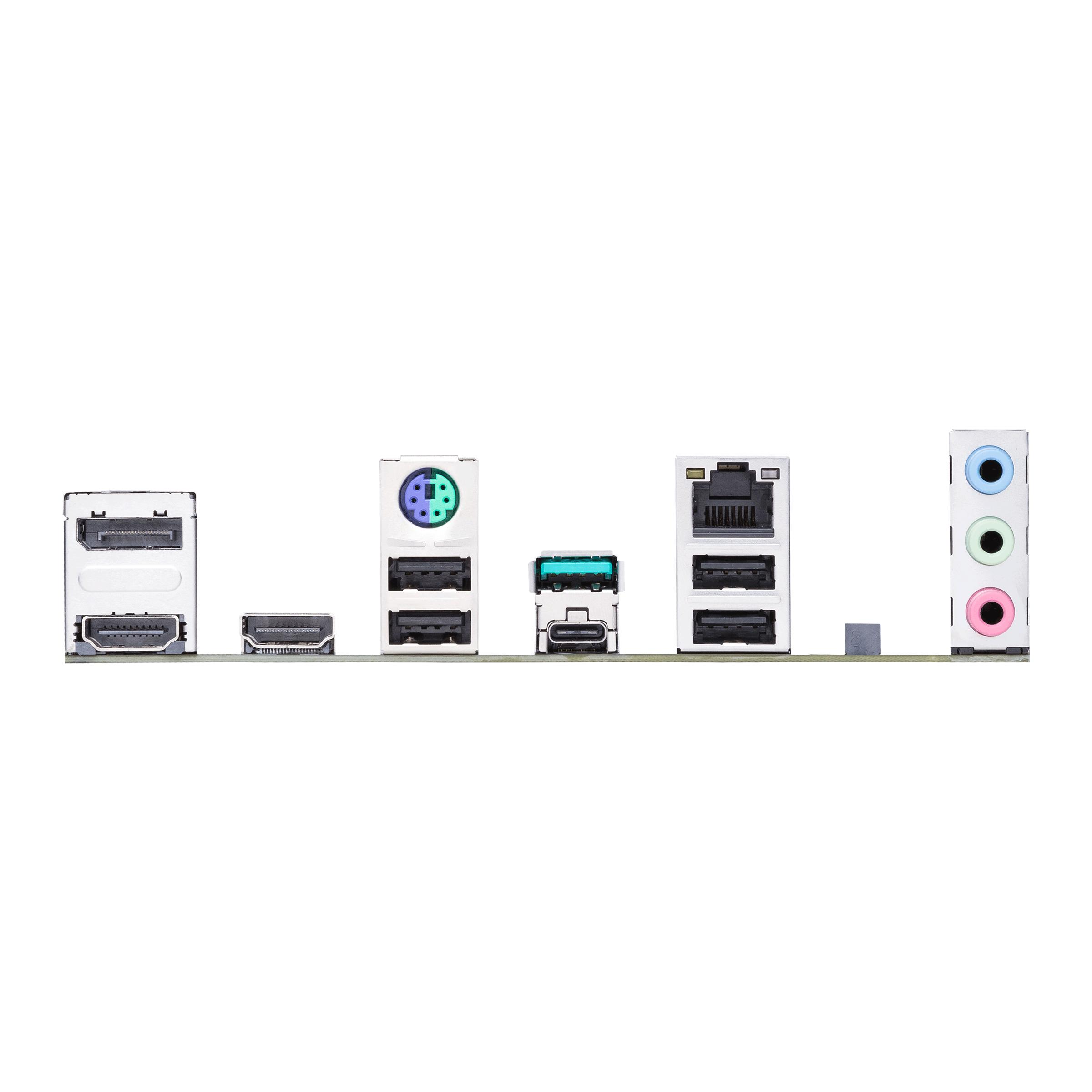 ASUS PRIME B560M-A - Motherboard - micro ATX - LGA1200-Sockel - B560 - USB-C Gen2, USB 3.2 Gen 1, USB 3.2 Gen 2 - Gigabit LAN - Onboard-Grafik (CPU erforderlich)