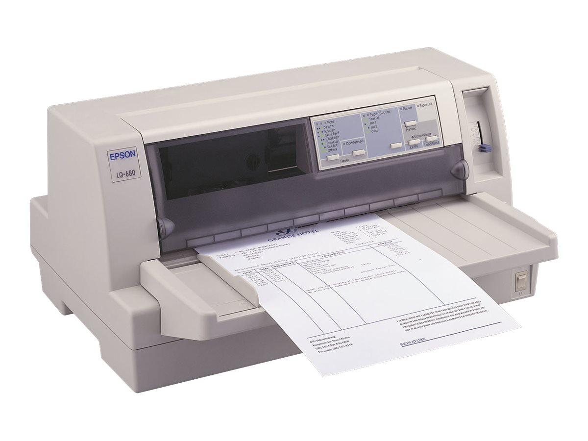Epson LQ 680Pro - Drucker - monochrom - Punktmatrix - 305 x 420 mm, 305 mm (Breite)