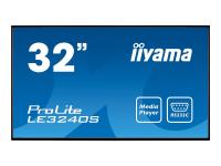 "ProLite LE3240S-B1 - 81.3 cm (32"") Klasse (80 cm (31.5"") sichtbar) LED-Display - Digital Signage"