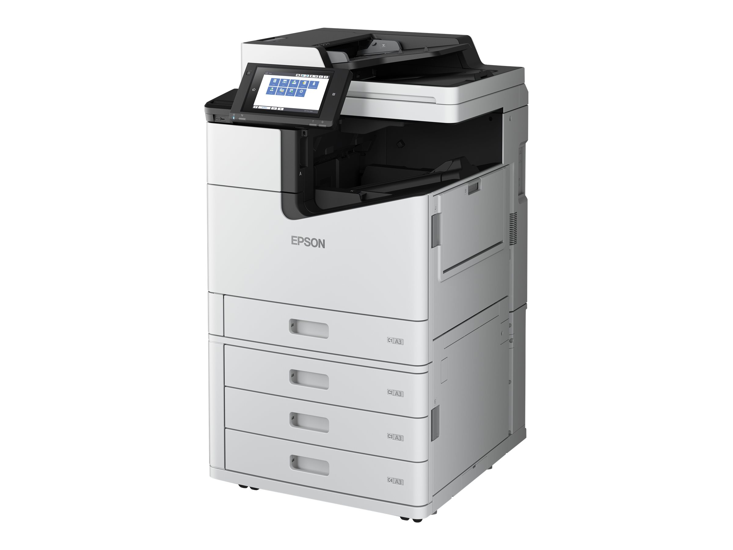 Epson WorkForce Enterprise WF-C17590 D4TWF - Multifunktionsdrucker - Farbe - Tintenstrahl - A3 (297 x 420 mm)