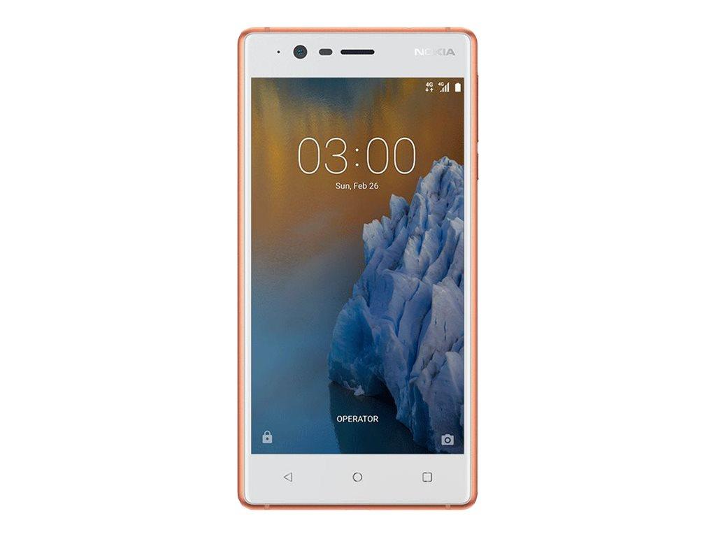 Nokia 3 12,7 cm (5 Zoll) 2 GB 16 GB Dual-SIM 4G Kupfer - Wei? 2630 mAh