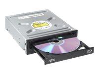 HLDS BH16NS55 Blu-ray Brenner intern SATA schwarz - BluRay-Brenner - CD: 16x