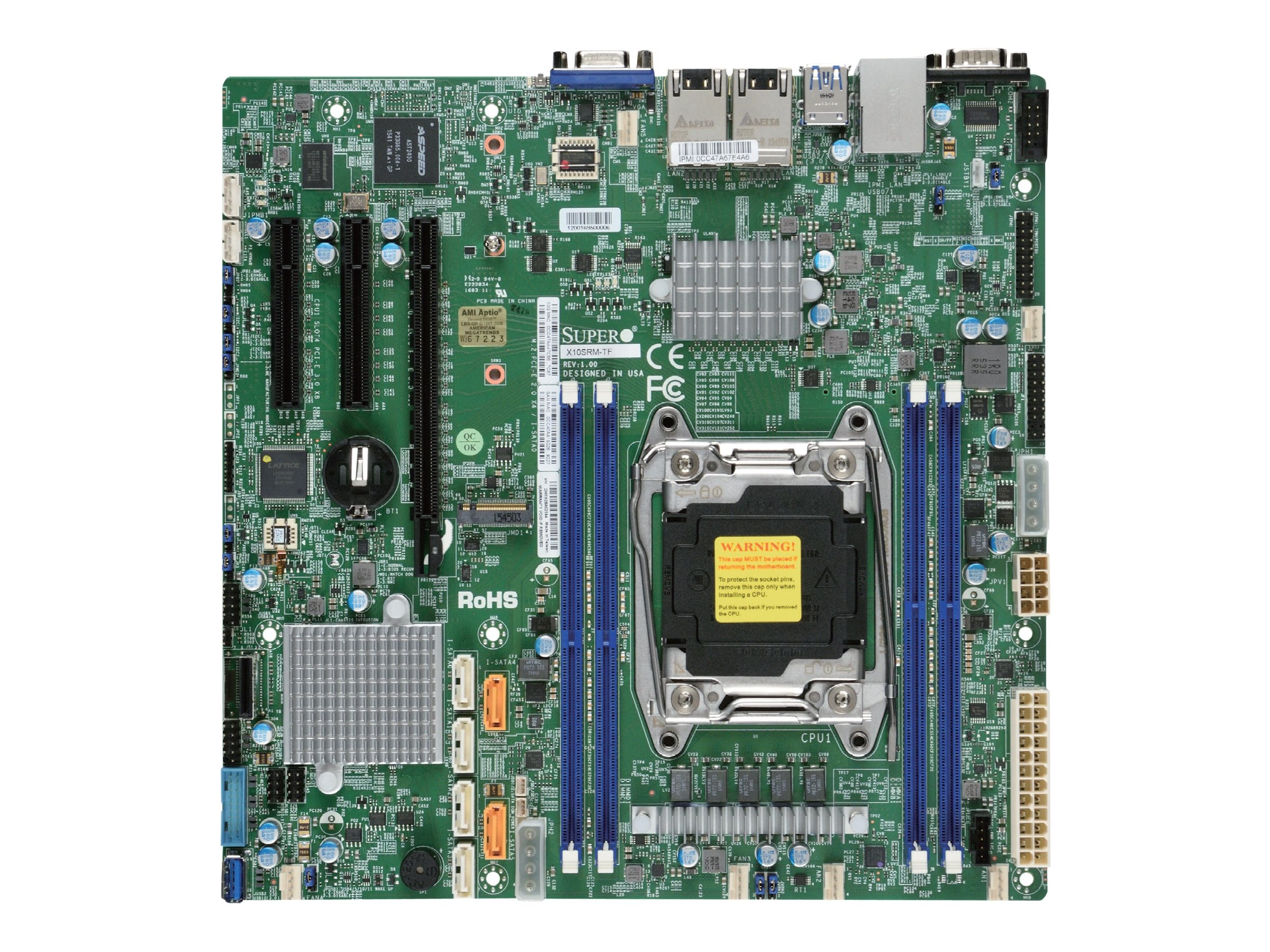 Supermicro X10SRM-TF - Motherboard