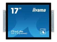 ProLite TF1734MC-B6X - 43,2 cm (17 Zoll) - 5 ms - 350 cd/m² - TN - 1000:1 - Projizierts Kapazitivsystem