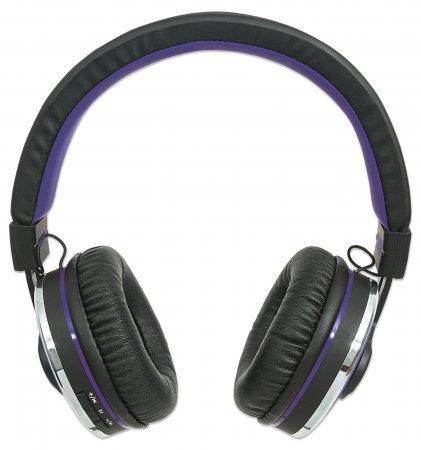 Manhattan Sound Science Cosmos Comfort-Fit Wireless Headphones - Kopfhörer mit Mikrofon - Full-Size