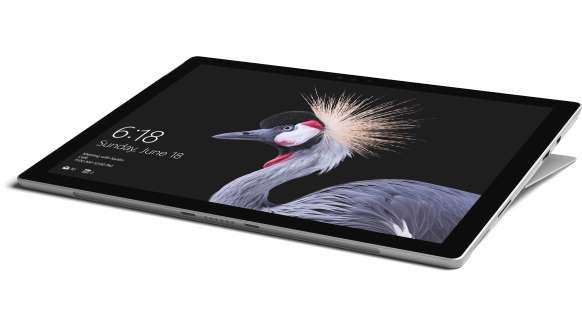 Microsoft Surface Pro 256 GB Silber, Schwarz - 12,3