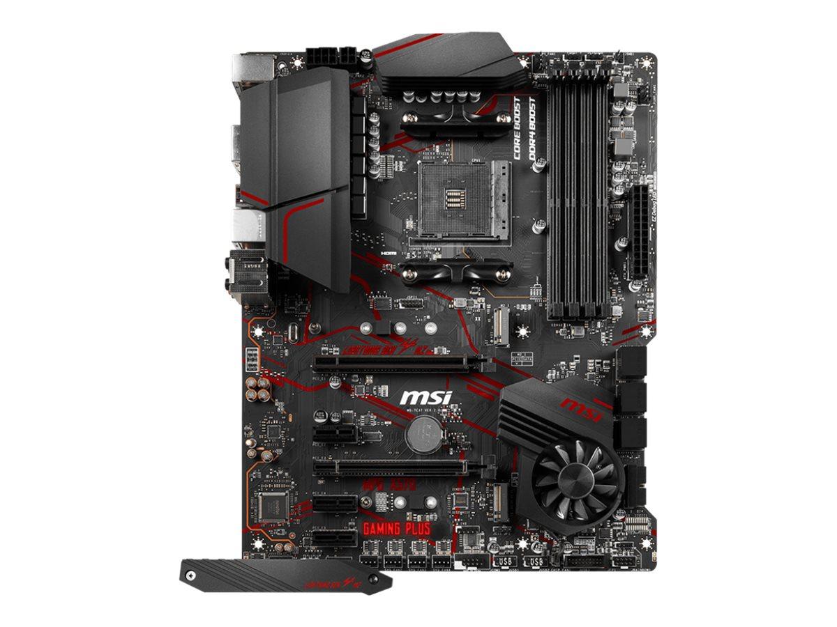 MSI MPG X570 GAMING PLUS - Motherboard - ATX - Socket AM4 - AMD X570 - USB-C Gen2, USB 3.2 Gen 1, USB 3.2 Gen 2 - Gigabit LAN - Onboard-Grafik (CPU erforderlich)