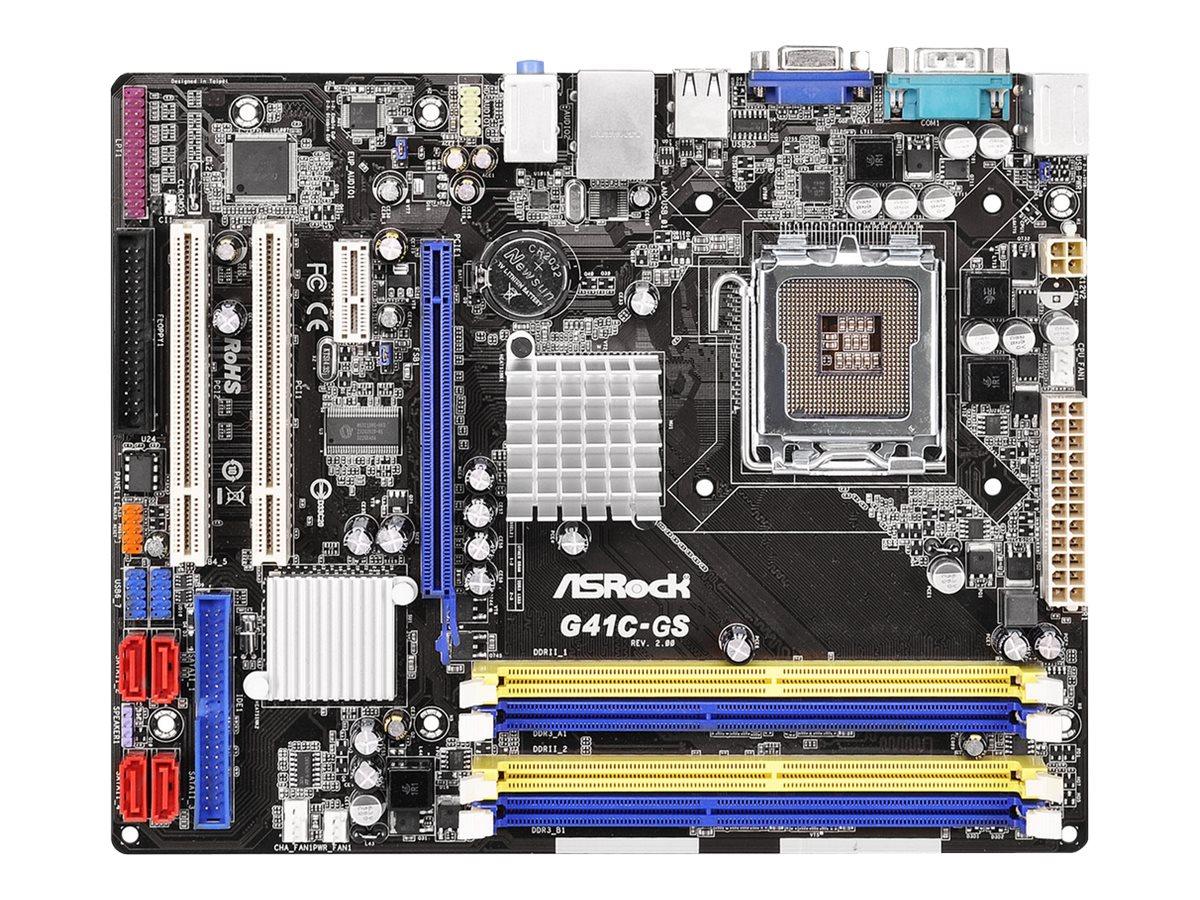 ASRock G41C-GS - 2.0 - Motherboard