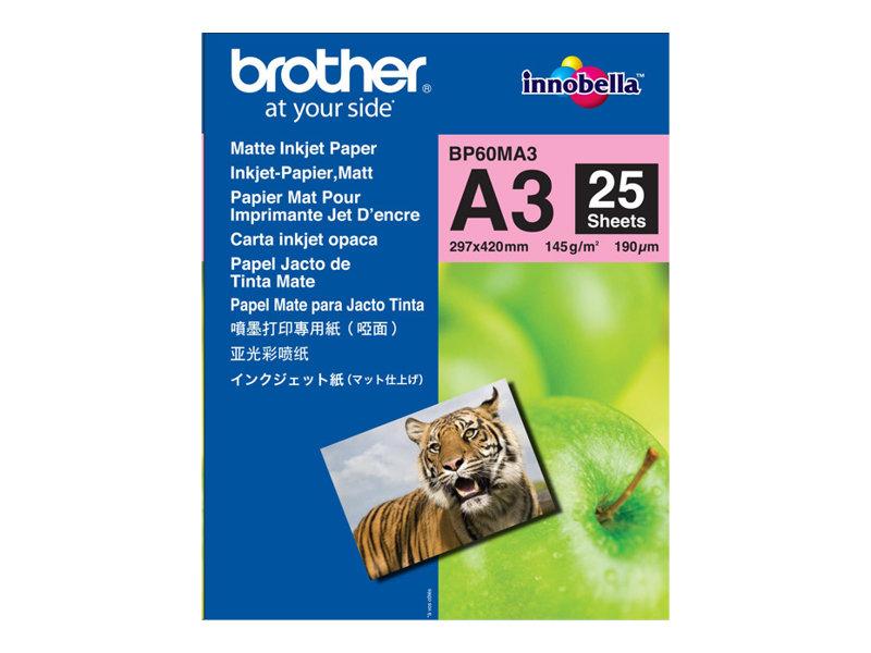Brother BP - Matt - A3 Nobi (328 x 453 mm) 25 Blatt Papier