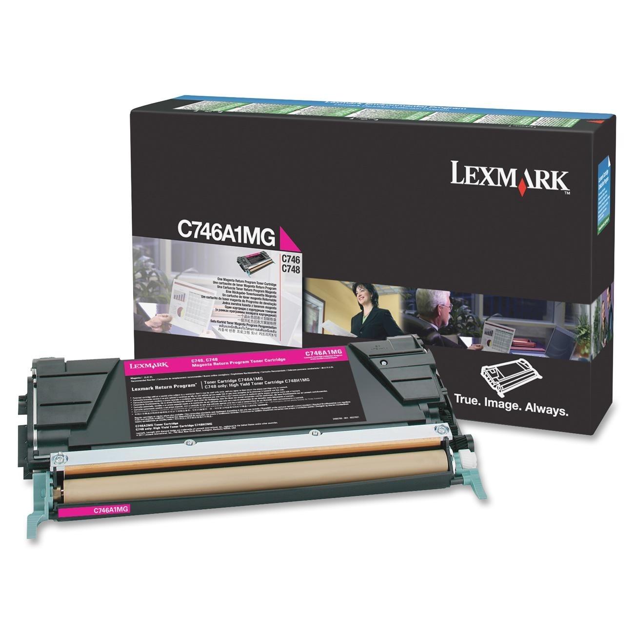 Lexmark C746A1MG Laser cartridge 7000Seiten Magenta Lasertoner / Patrone