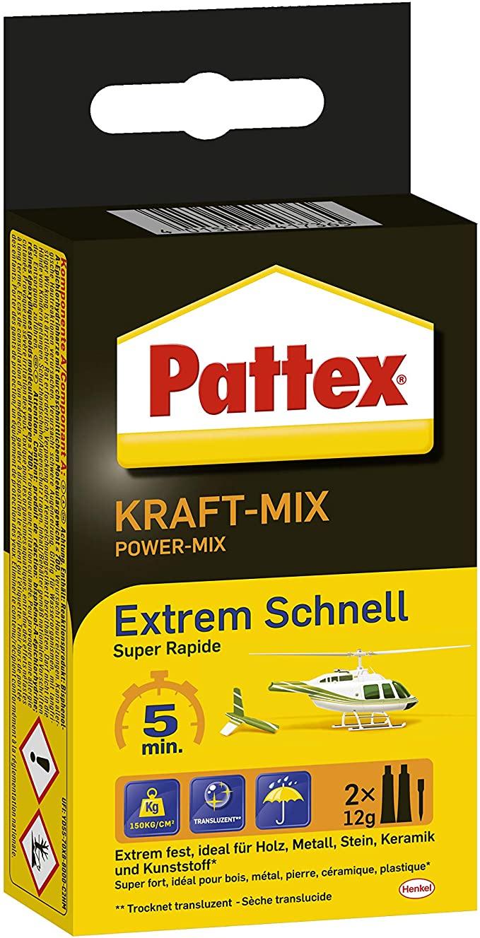 Pattex Zweikomponenten-Kleber Kraft-Mix 2 ST× 12 g