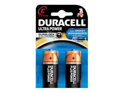 Duracell Ultra Power MX1400 - Batterie 2 x LR14