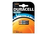 Duracell Ultra - Batterie 2 x AAAA - Alkalisch