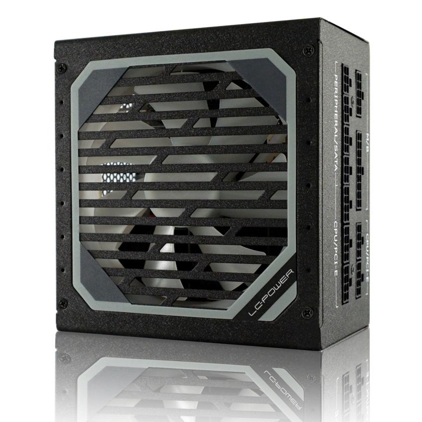 Vorschau: LC Power LC6850M V2.31 - 850 W - 110 - 240 V - 47 - 60 Hz - 10 A - Aktiv - 100 W
