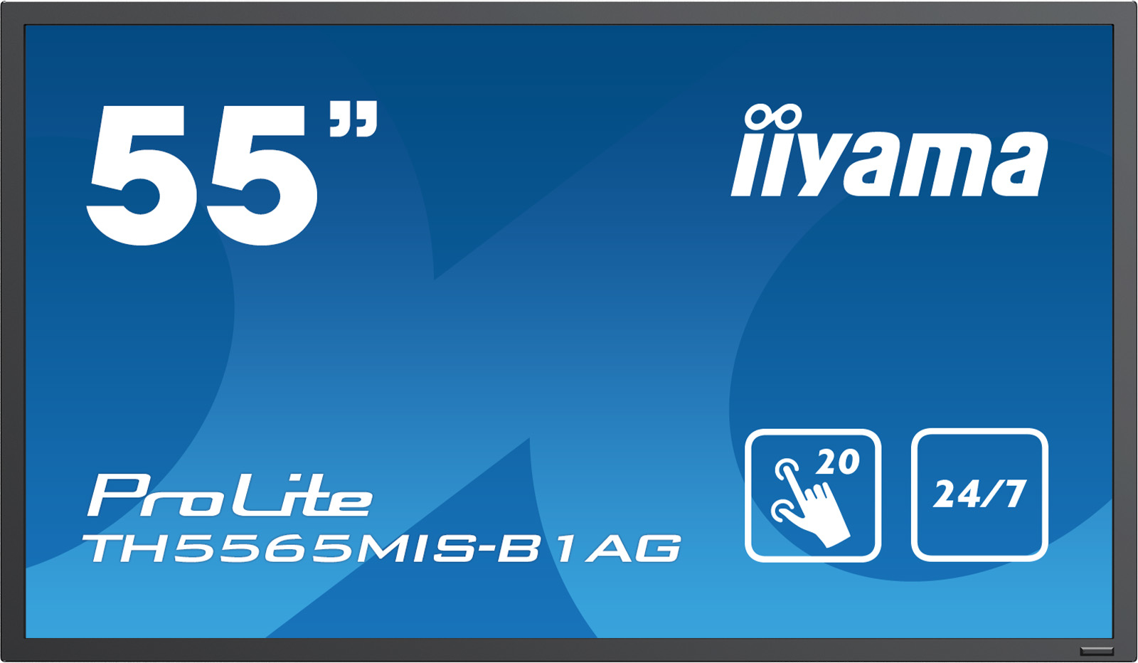Iiyama ProLite TH5565MIS-B1AG - 140 cm (55) Klasse (138.8 cm (54.6) sichtbar) LED-Display - Digital Signage