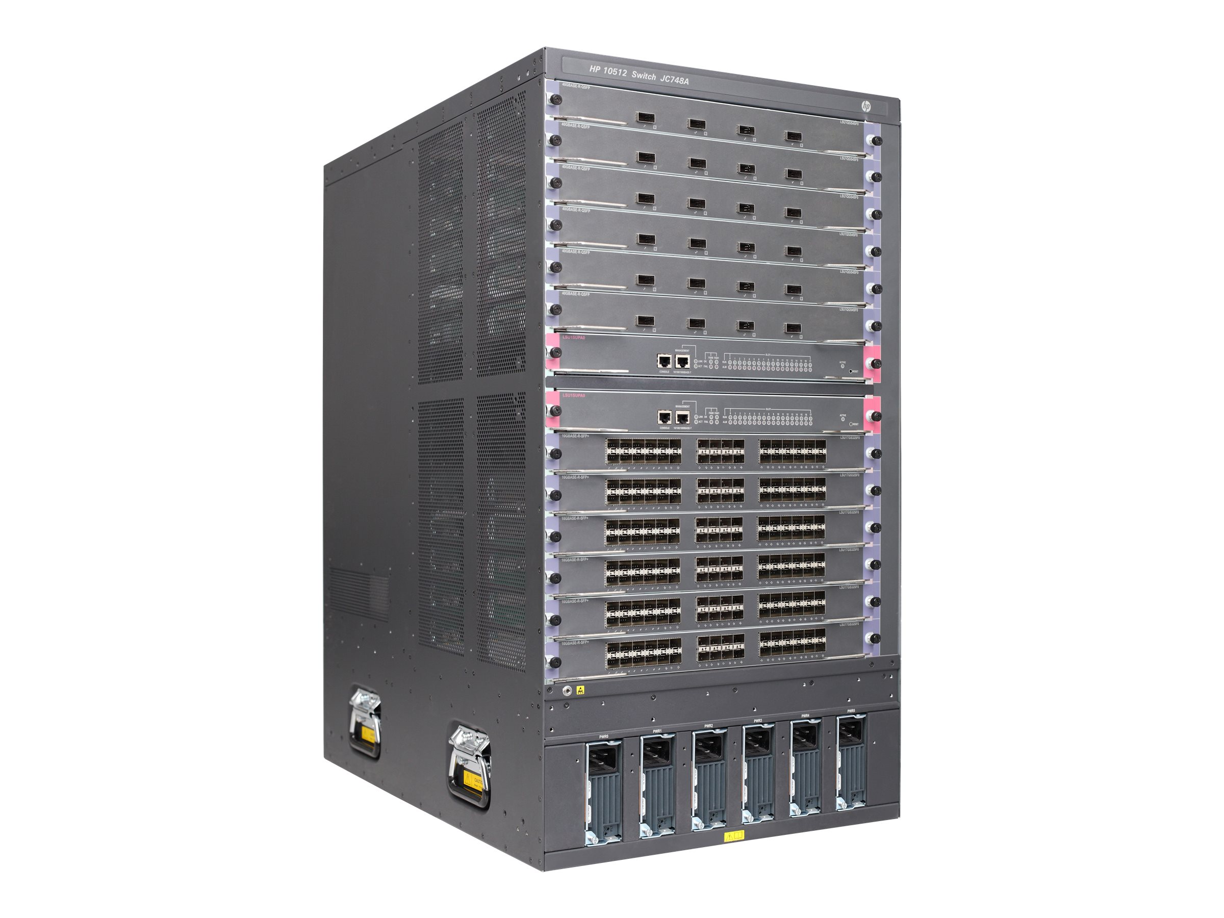 HP 10512 Switch Chassis (JC748A)