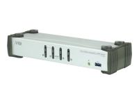 CS1914 Tastatur/Video/Maus (KVM)-Switch Schwarz - Grau