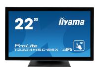 ProLite T2234MSC-B5X Touchscreen-Monitor 54,6 cm (21.5 Zoll) 1920 x 1080 Pixel Schwarz Multi-touch