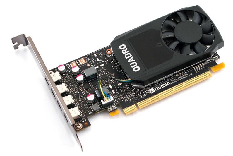 Fujitsu NVIDIA Quadro P1000 - Grafikkarten - Quadro P1000