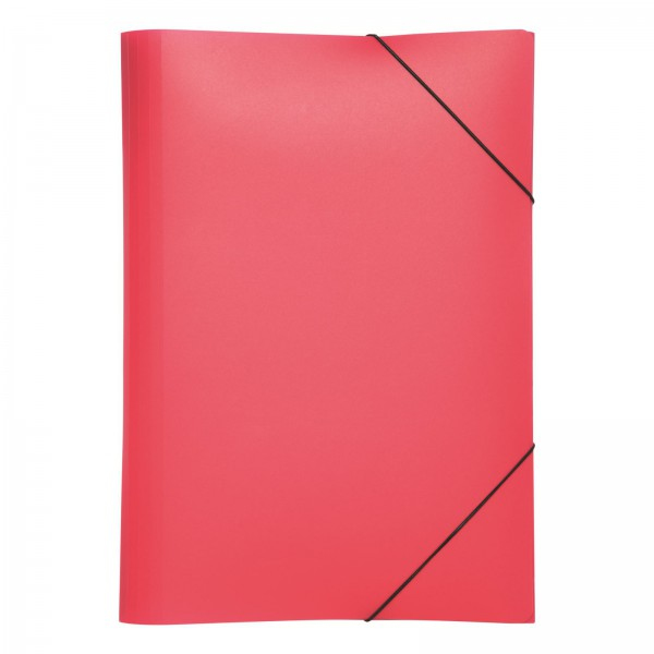 Pagna PP 12 - Präsentationsmappe - A4 - Polypropylen (PP) - Pink - Landschaft - Druckknopf