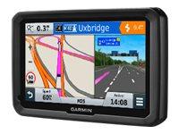 dzl 570LMT-D Tragbar / Fixiert 5Zoll TFT Touchscreen 233.7g Schwarz Navigationssystem