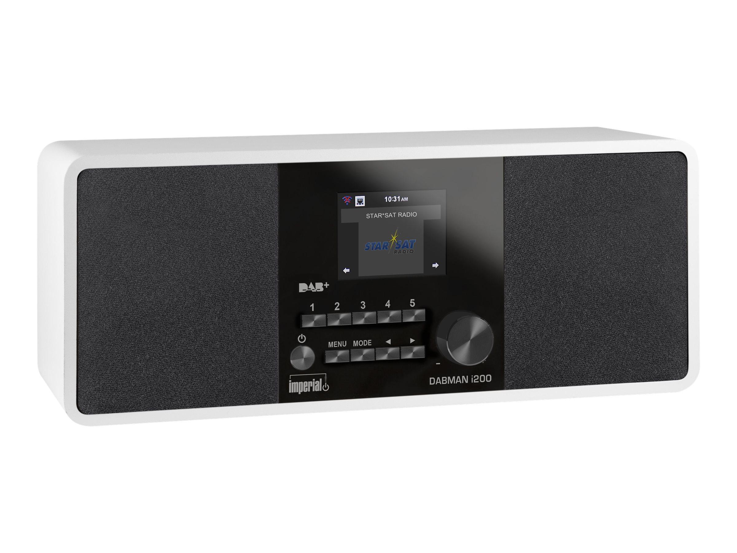Telestar imperial DABMAN i200 - Netzwerk-Audio-Player - 20 Watt (Gesamt)