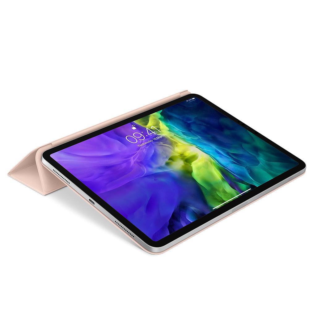 """Apple Smart Folio - Flip-Hülle für Tablet - Polyurethan - rosa sandfarben - 11"""" - für 11-inch iPad Pro (1. Generation, 2. Generation)"""