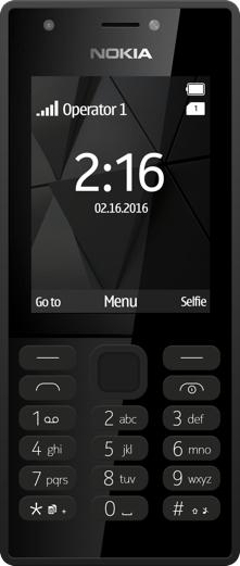Nokia 216 2.4Zoll 82.6g Schwarz Funktionstelefon