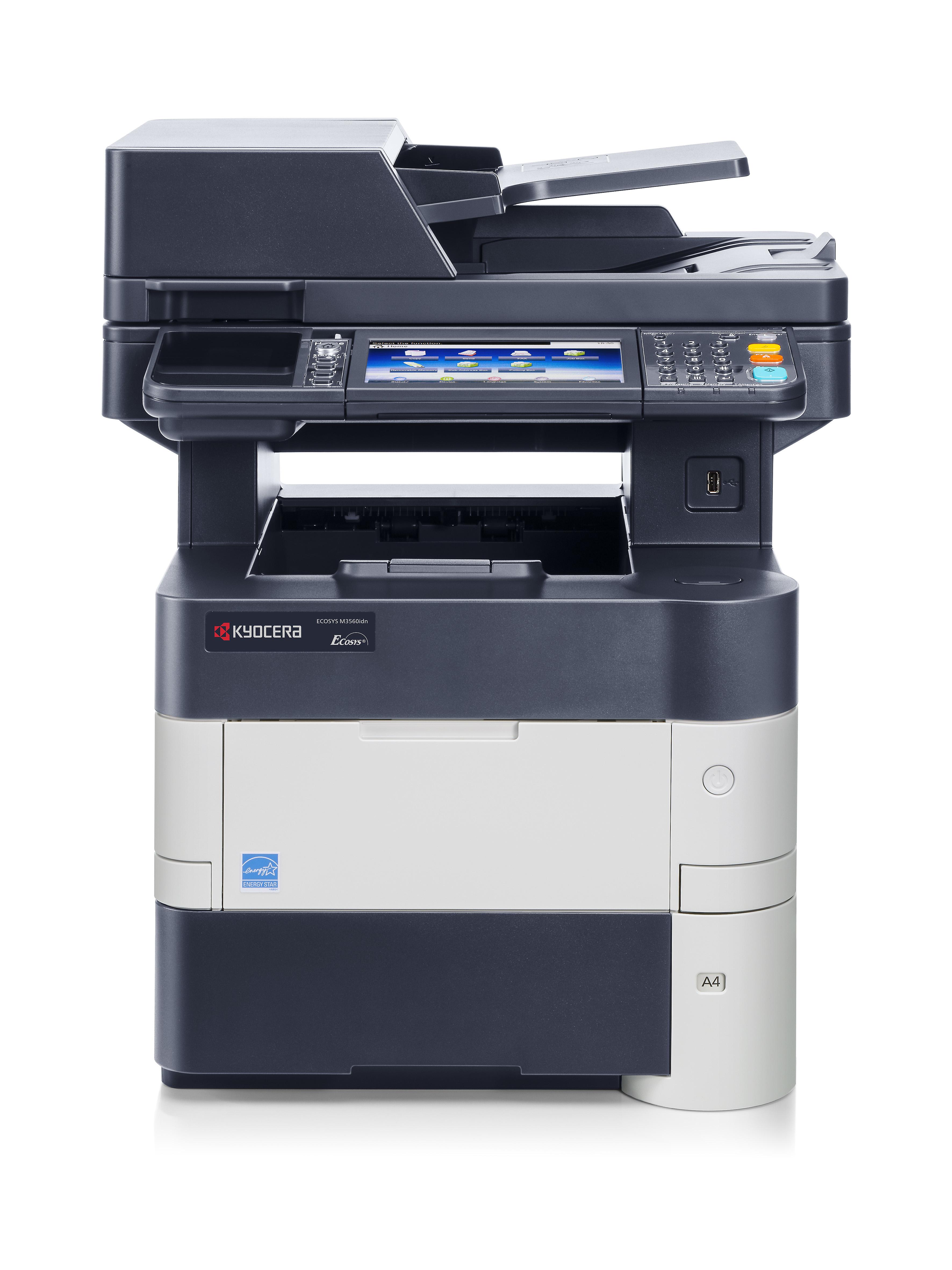 Vorschau: Kyocera ECOSYS M3560idn - Multifunktionsdrucker - s/w