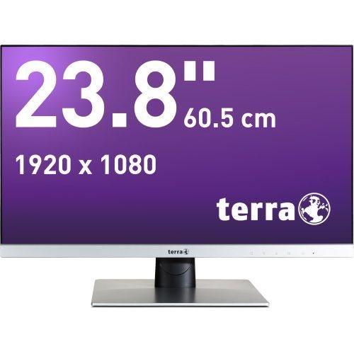 Wortmann TERRA 2462W 60.5cm/23.8 Full HD TFT Matt Silber