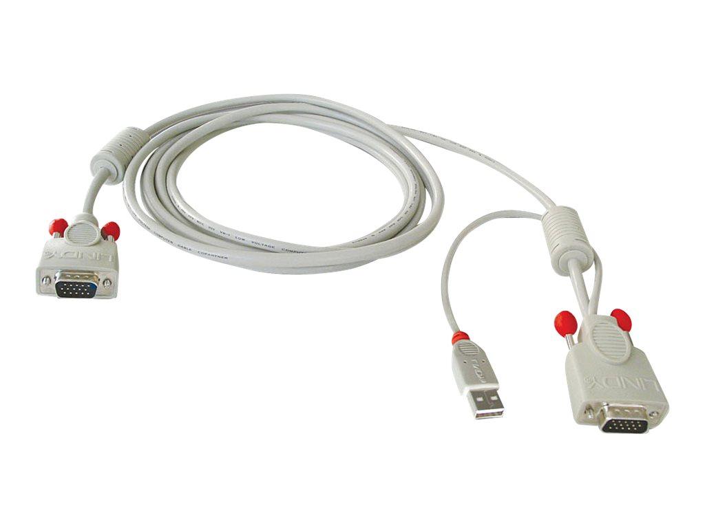 Lindy Combined KVM Cable - Tastatur- / Video- / Maus- (KVM-)